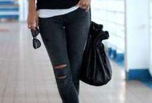estilo deportivo jeans.