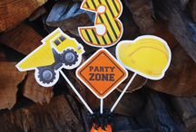 KIDS PARTIES: CONSTRUCTION / Ideas, and recipes for Construction Party