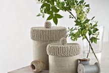 Strikkeoppskrifter/Knitting