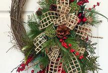 Vianočný adventný veniec