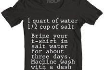 cut tshirts