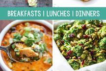 Healthy dinner / lunch ( sağlıklı öğünler )