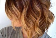 Couleur cheveux tendance courts