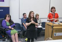 Disability Equality Studies at St. Angela's College / On Wednesday 10th June, we were delighted to welcome Ms Rosaleen McDonagh who officially launched our exciting new BA (Disability Equality Studies) programme which will commence in September 2015. Rosaleen McDonagh is a Traveller with a disability who is a playwright, activist and performer based in Dublin. You can find out more about this programme on the College website: www.stangelas.nuigalway.ie and applications are now open