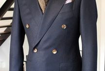 DOUBLE BREASTED / JACKETS & SUITS THAT ARE STYLISH AND CLASSIC.