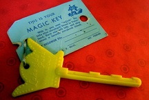 This Is Your Magic Key / A collection of our iconic Magic Keys to Children's Fairyland. Every key--even the oldest ones--still unlock our Talking Storybook Boxes.