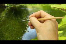 pintando ríos...
