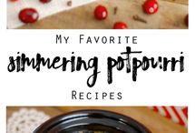 Potpoutti DIY / Potpourri recipes and ideas