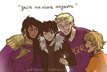 Nico Di Angelo Protection Squad