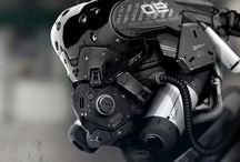 Cyberpunk gear