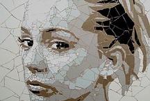 mozaic portre