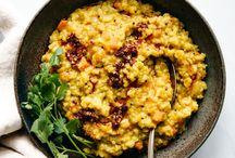 VEGETARIAN MAINS | Healthy Recipes, One Pot Meals