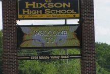 HIXSON HIGH SCHOOL / Hixson High School in Tennessee 37343 / by Julie Cooke Realtor