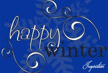 WINTER in ROYAL BLUE
