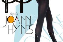 Pretty Polly meet Joanne Hynes / Pretty Polly meet Joanne Hynes een ontwerpster voor mooie designe panty's.