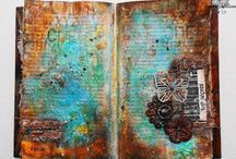 france papillon / Encaustic, art journals and mixed media by France Papillon.
