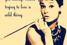 Hollywood 50's Hepburn Audrey