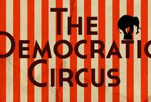 THE DEMOCRATIC CIRCUS / selected works from the free world