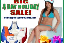 BIG HOLIDAY SALE ~ Ocean-Tamer Marine Bean Bags / Save big on our entire line of Ocean-Tamer Marine Bean Bag products this holiday season!