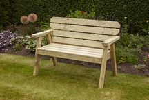 Anchor Fast Exmouth / Exmouth Wooden Garden Benches & Love Seats