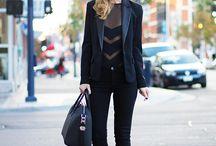 All Black Fashion / by Ebony Holloman