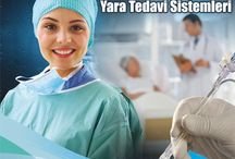 Topikal Oksijen Terapisi / Kronik Yara Tedavisi / Değişken basınçlı saf oksijen ile diyabetik ülser, venöz ülser, bası yaraları vb kronik yaraların tedavisidir