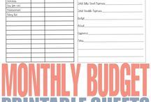 Creating (and sticking to) Your Budget / Having budget issues? These budgeting pins are full of tips, tricks and advice that can help!