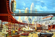 """RetroFuturism / If """"futurism is sometimes called a 'science' bent on anticipating what will come, retrofuturism is the remembering of that anticipation."""" / by Elizabeast"""