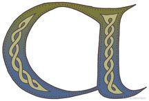 Celtic Knotwork Alphabet
