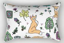 Little Dixie Fiber Co. Fabric Designs