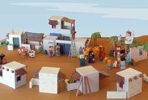 Escola bíblica / Dicas de atividades para departamento infantil