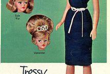 plastique vintage toys and dolls