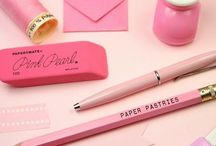 Cute Stationary / Cute , fun , girly and whimsical stationary