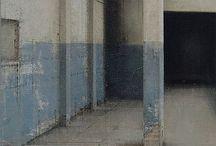 Pintura - Fachadas e ambientes internos. / pinturas - várias técnicas