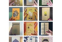 Annual Designer Planner - Curated by The Yard / This is a limited edition Planner curated by The Yard and designed by locals and expats living in the Middle East. Designers were asked to submit art work that answers a specific theme.