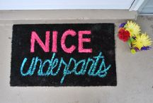 DOORMATS / by RUBY ANNE Perez