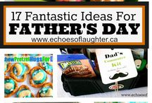Father's/Mother's Day  / Gifts & craft ideas for both occasions.