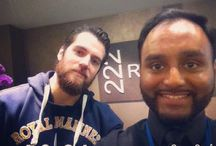 Henry Cavill in London / Henry Cavill with fans in London May 2015