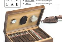 Cigar Humidor Venetialab / Solid wood humidor made in Italy