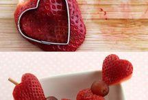 ideias com frutas