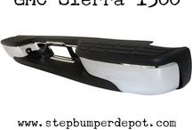 GMC Front And Rear Bumpers / We have a huge selection of gmc rear bumper with a very reasonable price. You can order it online and get it delivered on time with free shipping.