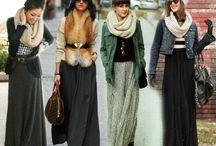 Длинная юбка. Maxi Skirt