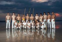 It is all about capoeira / My hoby, my family, my blood,