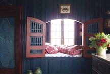 Sovrum och alkover