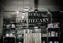 Apothecary / Natural remedies / by Chellie Hailes