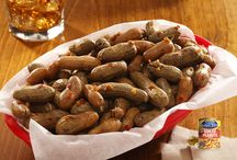 Boiled Peanuts / McCall Farms has been canning boiled peanuts since 1954. In 1996, McCall Farms acquired Peanut Patch Boiled Peanuts from Roddenberry and added them to the Margaret Holmes label.