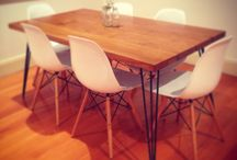 Mid-century modern furniture crafted by VAKA / Mid-century modern, rustic, furnitre