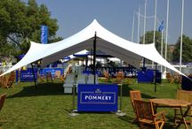 Event tents / The versatility and aesthetic appeal of stretch tents make them the perfect tent for events.