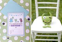 1st birthday - Monster Bash