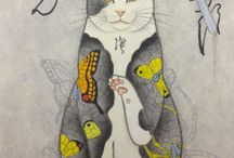 Kazuaki Horitomo tattooed cats